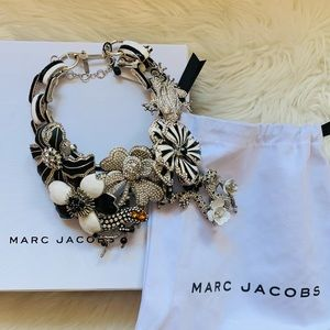 New! Rare MARC JACOBS RUNWAY Statement Necklace